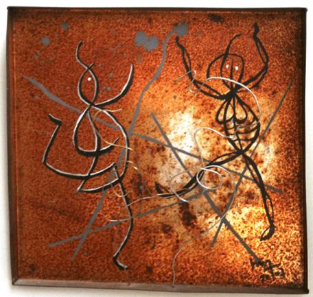 Danse-Dança (Boîte métal - Boita de metau) - h. 21,8 cm