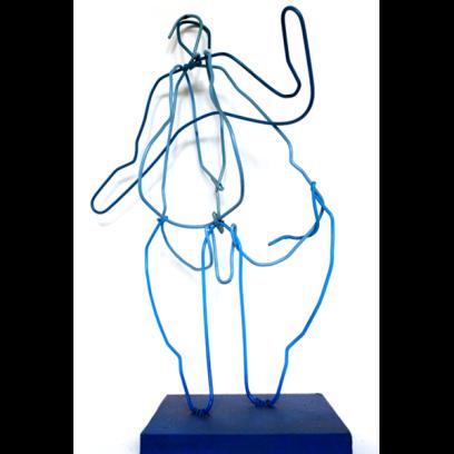 Le gros bleu (ceintres) - Lo blau gròs - h. 47 cm