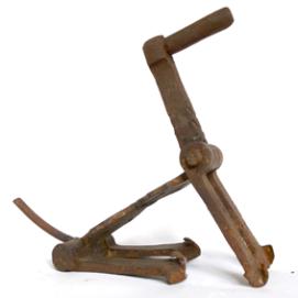 Chien articulé - Can articulat - h. 25 cm – coll. part.