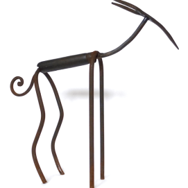 Gazelle - Gazèla - h. 45 cm - coll. part.