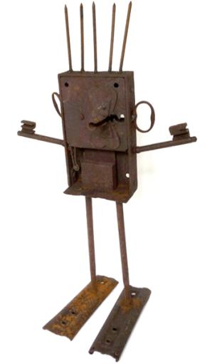 Le serrurier - Lo sarralhier - h. 45 cm - coll. part..