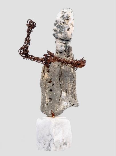 Bras de fer - Braçes de ferre - h. 32 cm