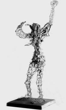 Fantôme - fantauma - h. 57 cm