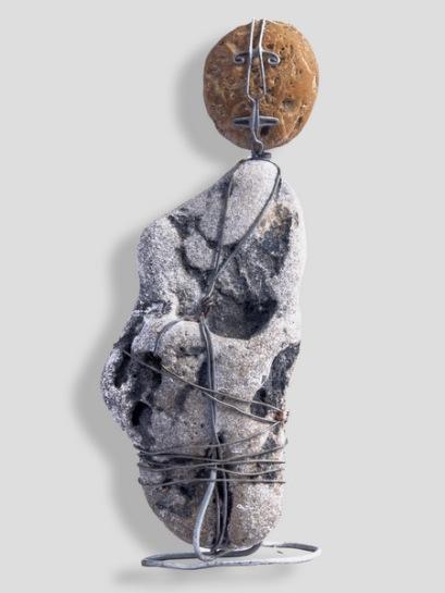Homme de pierre - Òme de pèira - h. 17 cm