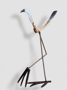 Oiseau des marais - Aucèl palunier - h. 75 - coll. part.cm