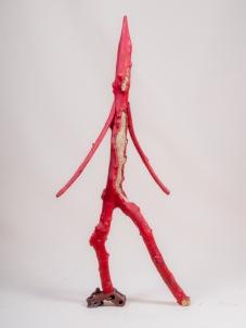 Pénitent rouge - Penitènt roge - h. 80 cm