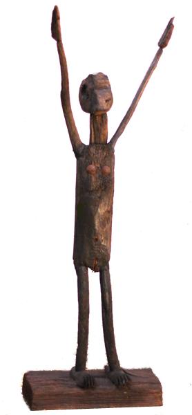 Déesse de la pluie - Diva de la pluèia - h. 109 cm