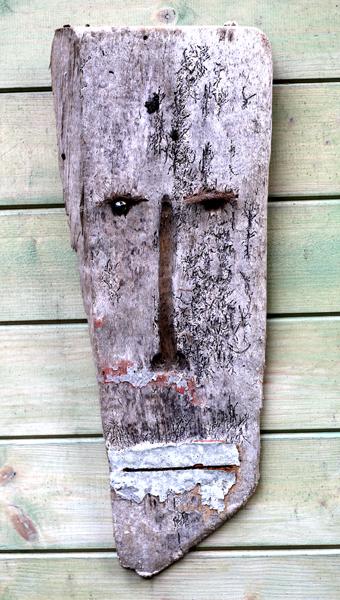 Masque - Masca - h. 52 cm